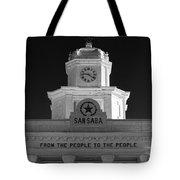 San Saba Couthouse Tote Bag