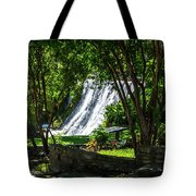 San Saba Waterfall Tote Bag