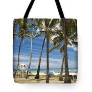San Souci Beach Tote Bag