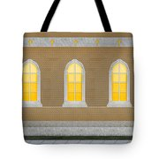 Sanctuary Windows And Walls Tote Bag