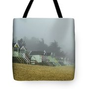 Sand And Huts And Fog Tote Bag