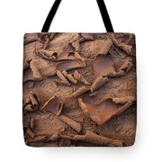 Sand And Mud Curls Tote Bag