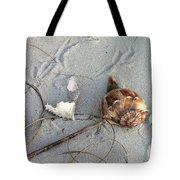 Sand And Shells Tote Bag