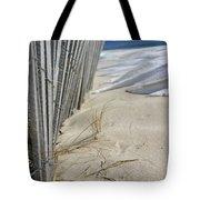 Sand And Snow Tote Bag