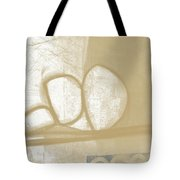 Sand And Stone 1- Contemporary Abstract Art By Linda Woods Tote Bag by Linda Woods