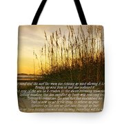 Sand And Surf Tote Bag