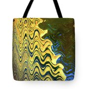 Sand At The Beach Abstract Tote Bag