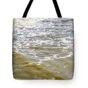 Sand Beach And Wave 4 Tote Bag