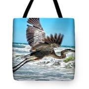 Sand Crane Tote Bag