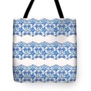 Sand Dollar Delight Pattern 4 Tote Bag by Monique Faella