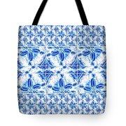 Sand Dollar Delight Pattern 6 Tote Bag by Monique Faella
