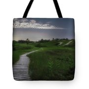 Sand Dune Board Walk Tote Bag