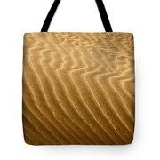 Sand Dune Mojave Desert California Tote Bag