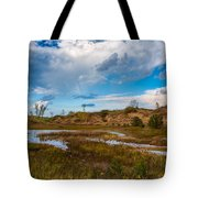 Sand Dunes In Indiana Tote Bag