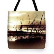 Sand Dunes Sunset Tote Bag