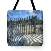 Sand Fence Tote Bag
