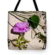Sand Flowers Tote Bag