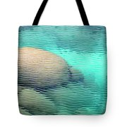 Sand Harbor Ripples Tote Bag