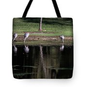 Sand Hill Cranes Dining Room Tote Bag