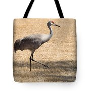 Sand Hill Cranes Tote Bag