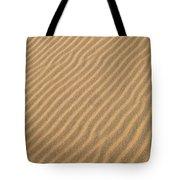 Sand Patterns Tote Bag