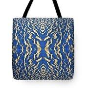 Sand Shadow Matrix Tote Bag