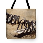 Sand Shoes I Tote Bag