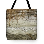 Sand Stone And Reeds Tote Bag