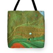 Sand Storm Comes Tote Bag
