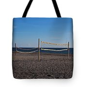 Sand Volleyball Tote Bag