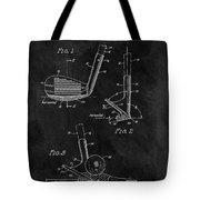 Sand Wedge Patent Tote Bag