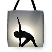 Sand Yoga Tote Bag