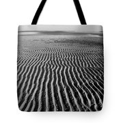 Sandbar Patterns Tote Bag