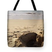 Sandcastle On The Beach, Hapuna Beach Tote Bag