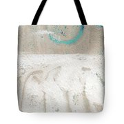 Sandcastles- Abstract Painting Tote Bag