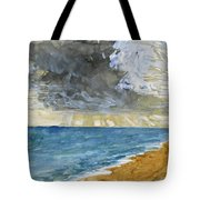 Sandgate Beach. Kent  Tote Bag