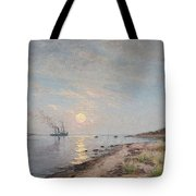 Sandhamn In The Sunset Tote Bag
