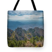 Sandia Crest In Fall Tote Bag