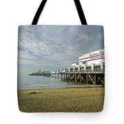 Sandown Pier Tote Bag