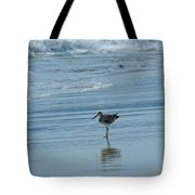 Sandpiper On The Beach Tote Bag