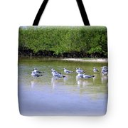 Sandpiper Party Tote Bag