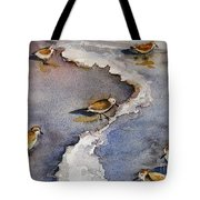 Sandpiper Seashore Tote Bag