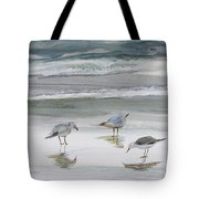 Sandpipers Tote Bag by Julianne Felton
