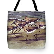 Sandpipers Tote Bag