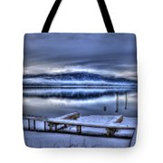 Sandpoint From 41 South Tote Bag