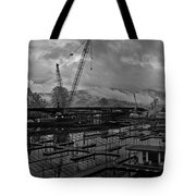 Sandpoint Marina And Byway Tote Bag