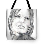 Sandra Bullock Tote Bag