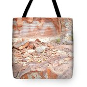 Sandstone Colors In Wash 3 - Valley Of Fire Tote Bag