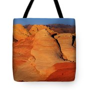 Sandstone Formations In Valley Of Fire State Park Nevada Tote Bag by Dave Welling