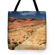 Sandstone Landscape Valley Of Fire Tote Bag